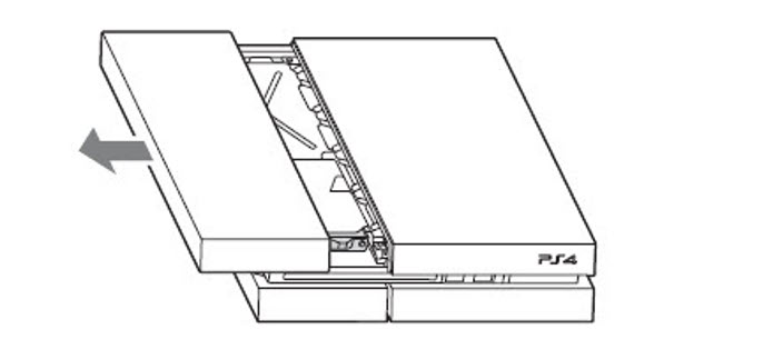PS4-retirando-baia-proteção