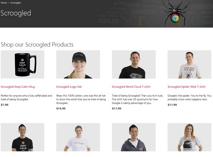 """Produtos """"Scrooled"""" na loja da Microsoft (Foto: Reprodução/Edivaldo brito)"""