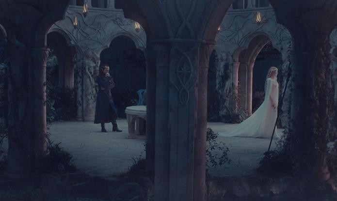 Basta mover o mouse rara movimentar os personagens nas cenas do filme (Foto: Reprodução)