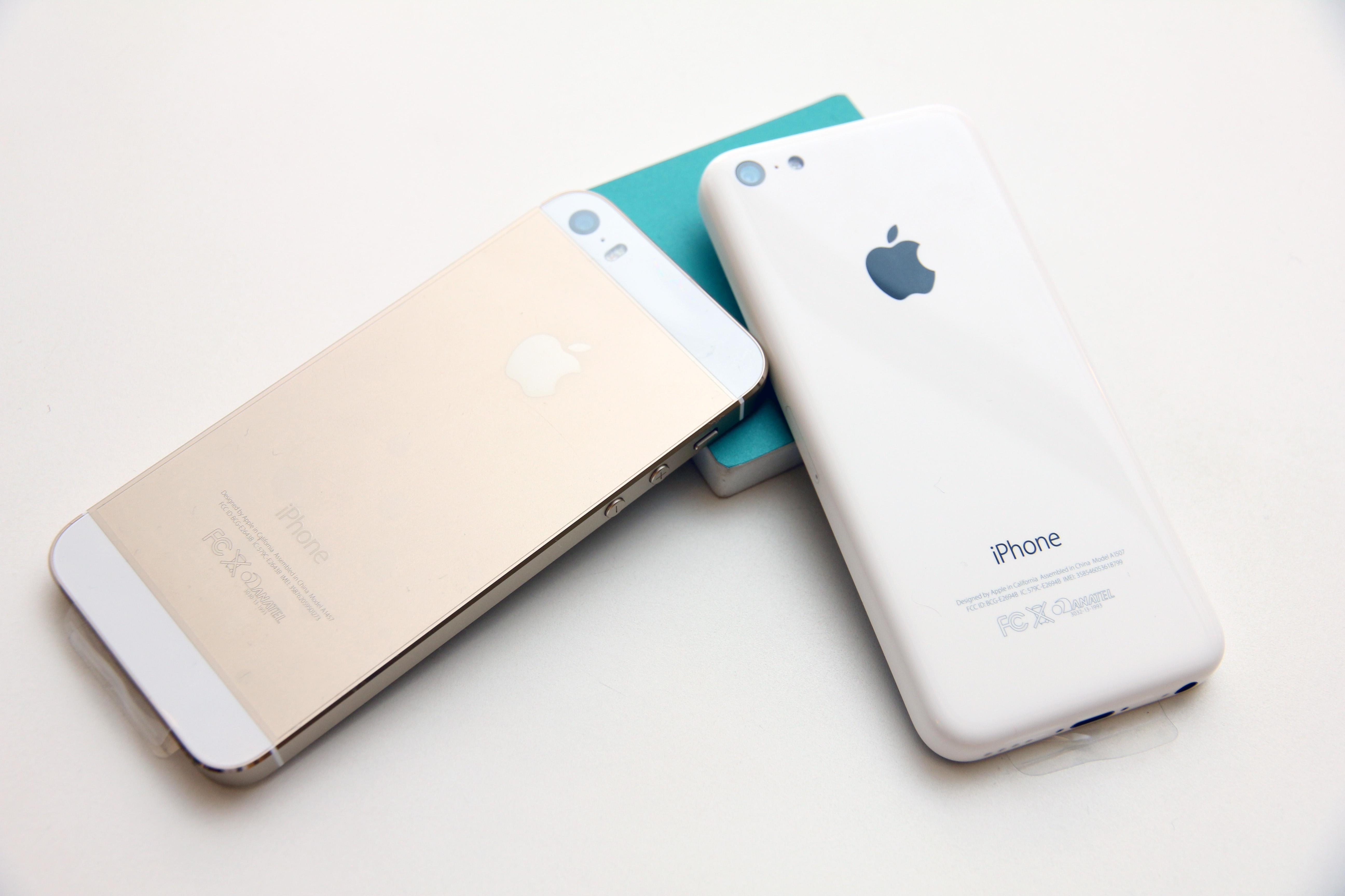 iPhone 5S e iPhone 5C (Foto: Allan Melo / TechTudo)