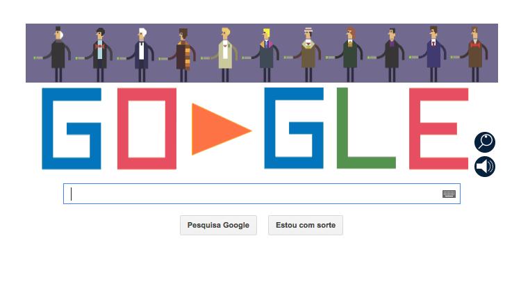 Doctor Who ganha Doodle do Google (Foto: Reprodução/Google)