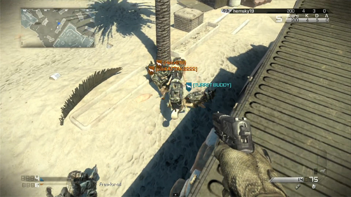 Cães de guarda não trabalham bem em equipe no Call of Duty: Ghosts (Foto: Reprodução)