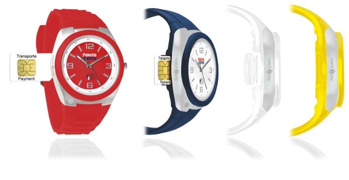 d15b34826b6 Relógio com chip pode ser usado para pagar ônibus