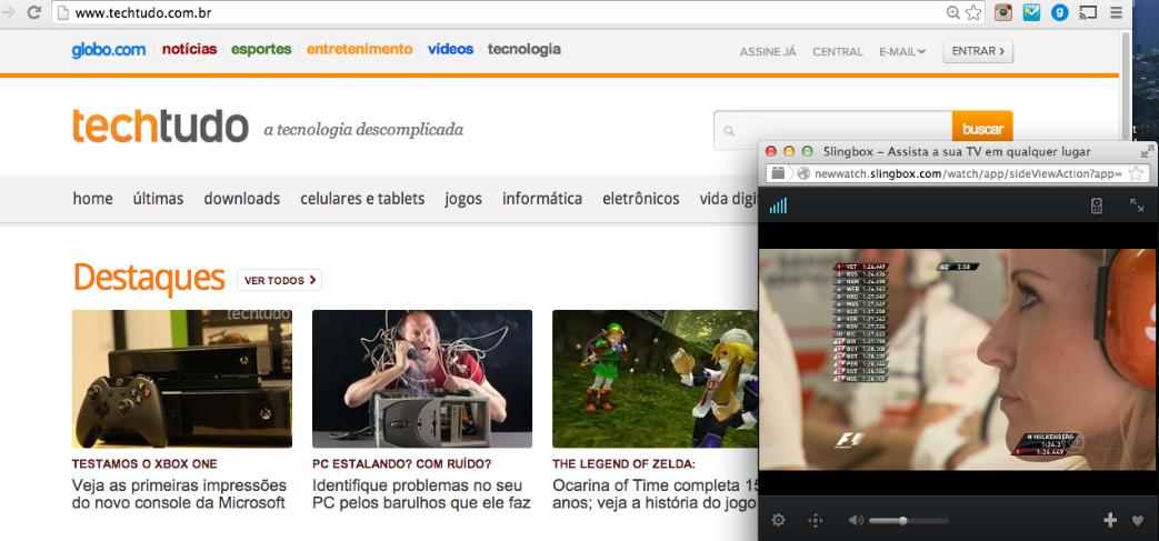 Dá para deixar uma pequena janela aberta rodando o aplicativo web enquanto se trabalha (Foto: TechTudo/Rodrigo Bastos)