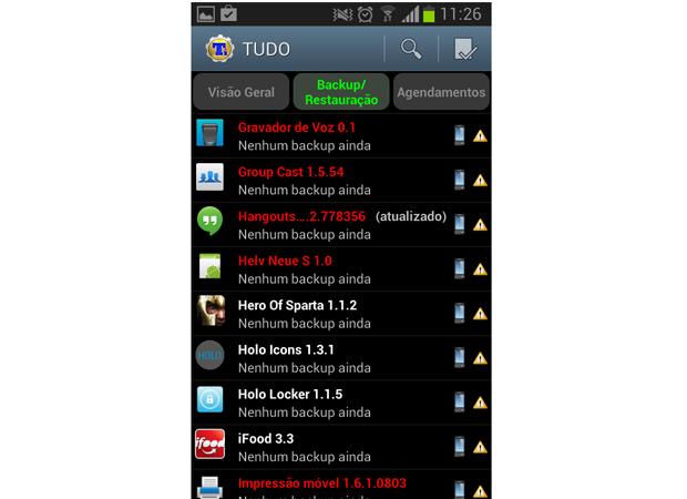 excluir apps android (Foto: Reprodução)