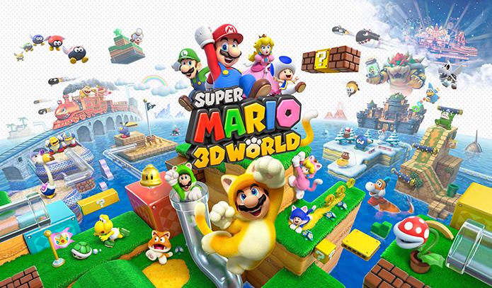 Review: Super Mario 3D World reúne o melhor da carreira do encanador (Foto: Divulgação)