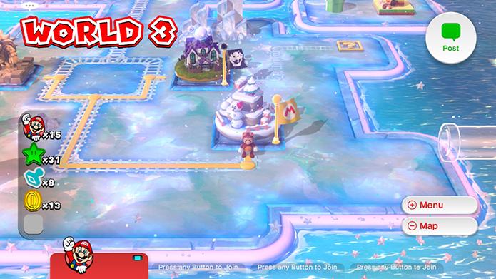 Review: Super Mario 3D World reúne o melhor da carreira do encanador (Foto: Reprodução/Murilo Molina)