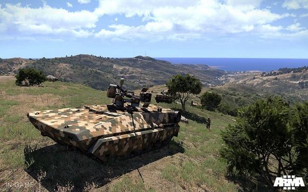 Arma 3 conta com uma ampla variedade de tanques de guerra (Foto: Divulgação)