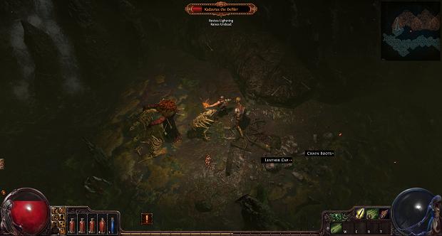 Path of Exile possui controles similares a outros Action RPGs tradicionais (Foto: Divulgação)