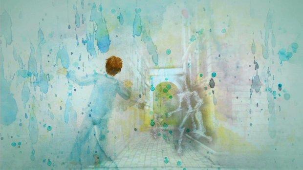 Alguns trechos da história de rain são contados com ilustrações em aquarela. (Foto: Reprodução/Blog Otopapa)