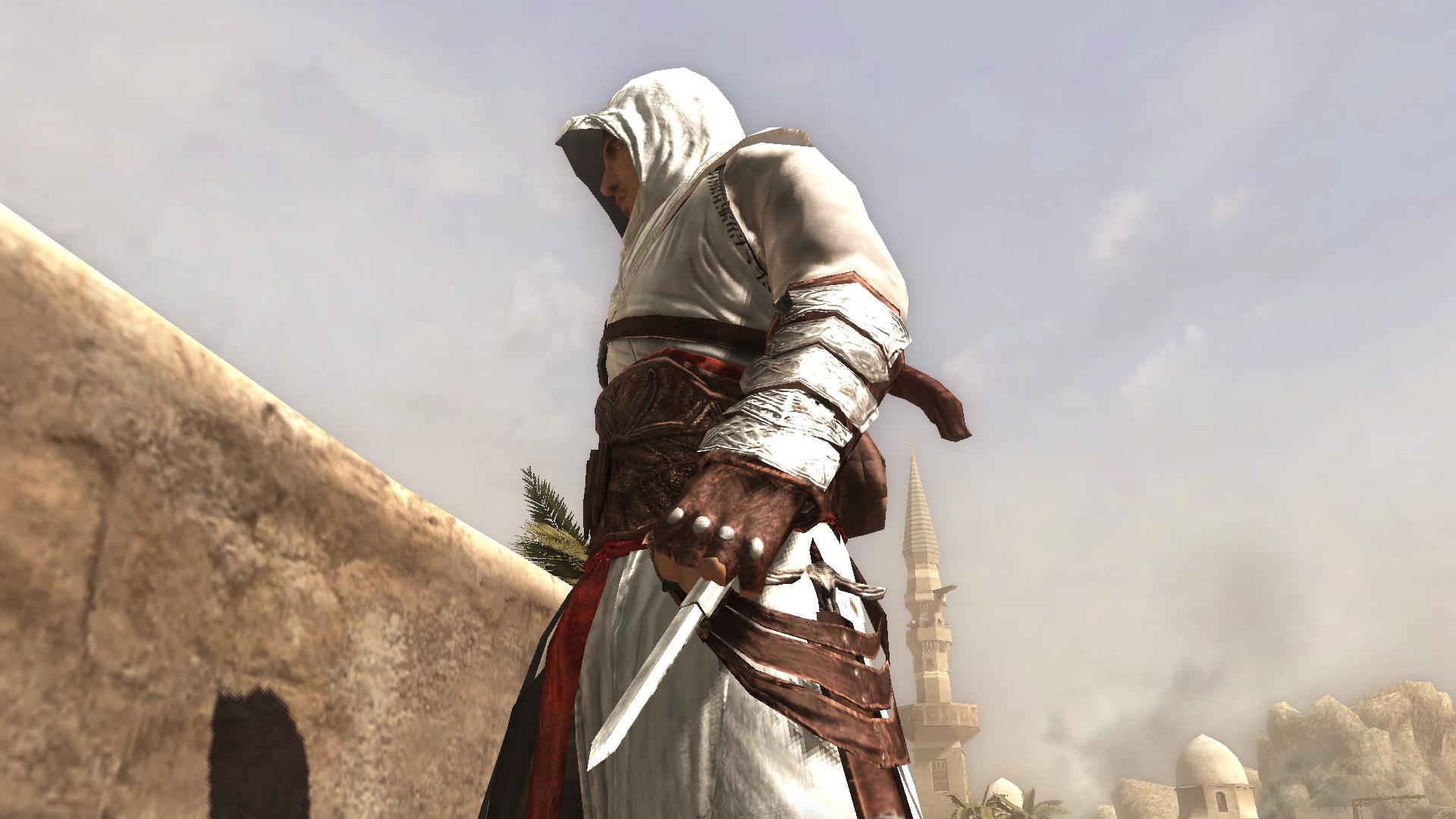 Hidden Blade: a lâmina é destravada a partir de uma movimentação feita pelo braço do assassino (Foto: Reprodução/AC Wikia)