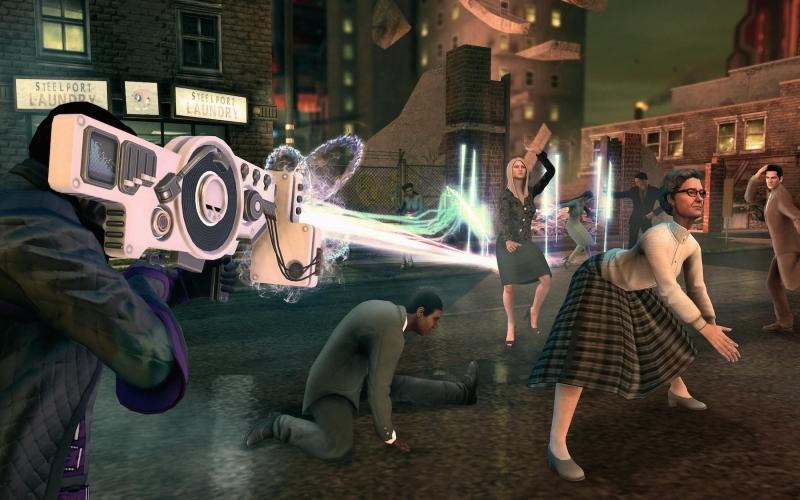 Em Saints Row IV é possível alternar entre 3 músicas Dubstep diferentes (Foto: Divulgação)