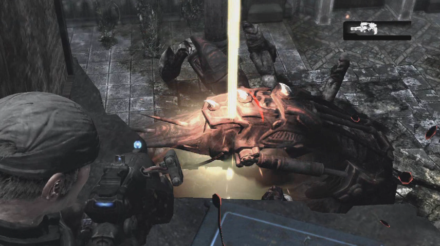 O Hammer of Dawn é capaz de destruir desde monstros a prédios (Foto: Reprodução/Gaming Irresponsability)