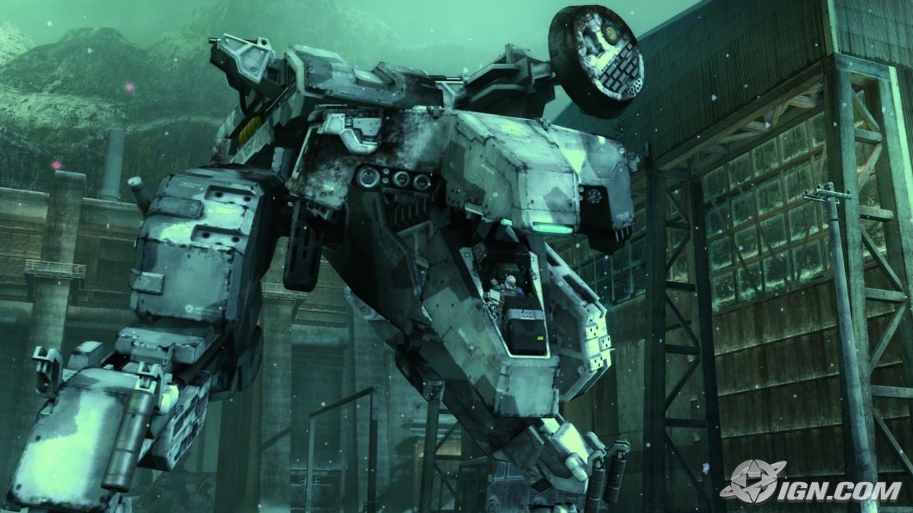 Diferente dos modelos anteriores, o Metal Gear Rex possui um Cockpit para um piloto (Foto: Reprodução/IGN)