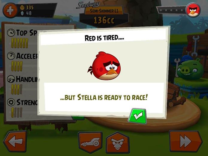 Review: Angry Birds Go! é divertido, mas foi arruinado por microtransações (Reprodução/Murilo Molina)