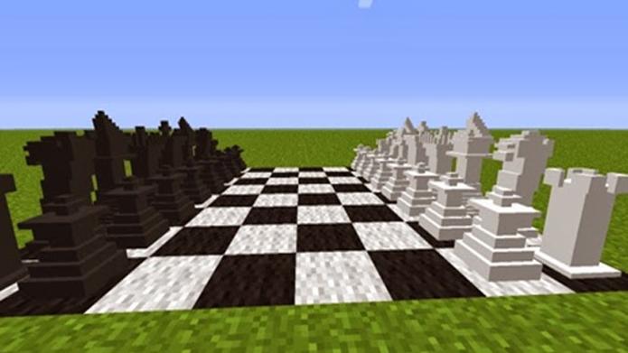 Os Mods de Minecraft trazem novas funções ao game como, por exemplo, jogar xadrez (Foto: Divulgação)