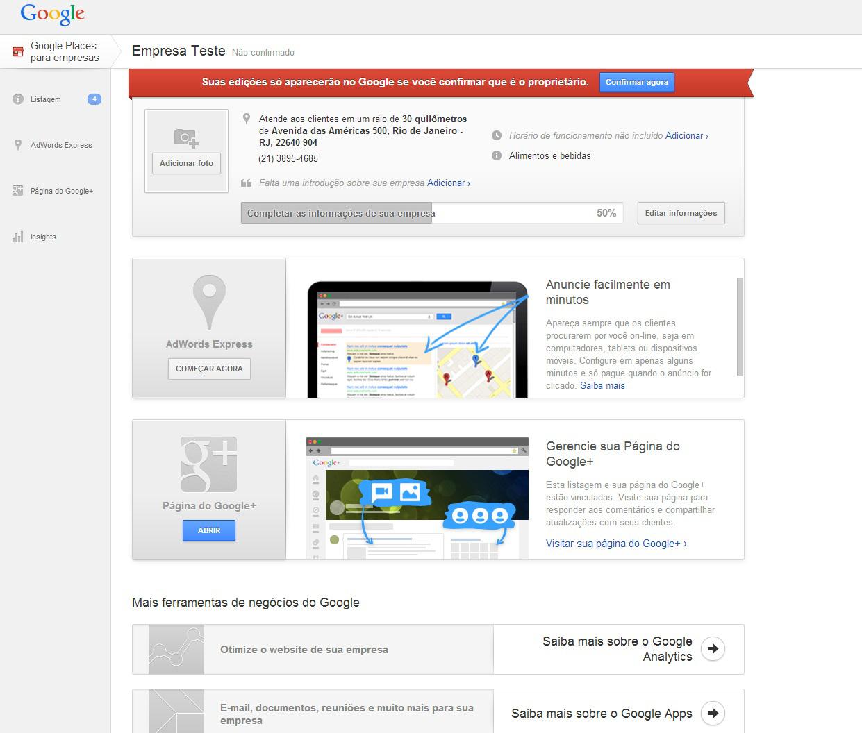 Google (Foto: Reprodução/Barbara Mannara)