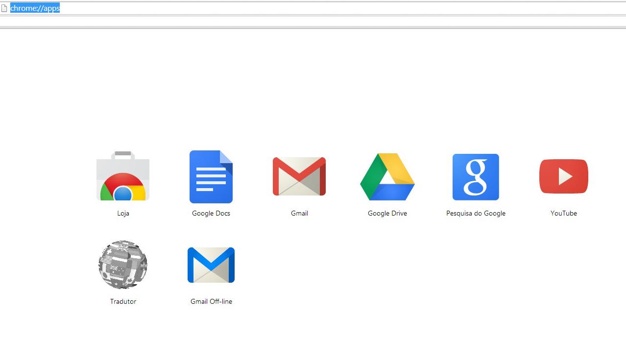 Abra o Gmail Offline na guia de Aplicativos (Foto: Reprodução/Barbara Mannara)