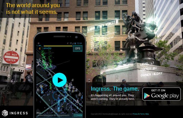 Ingress: jogo do Google traz realidade aumentada para Android e iOS