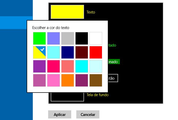 Configurando auto contraste (Foto: Reprodução/Helito Bijora)