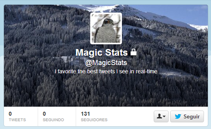 Magic Stats promete mostrar tuítes com potencial viral (foto: Reprodução/Twitter)
