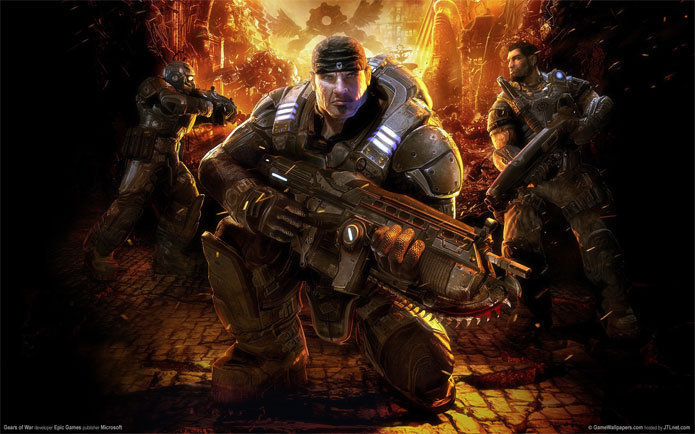 Gears of War de graça na Xbox Live (Foto: Divulgação)
