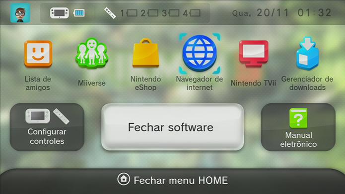 Wii U: como tirar e salvar screenshots dos seus games (Foto: Reprodução/Murilo Molina)