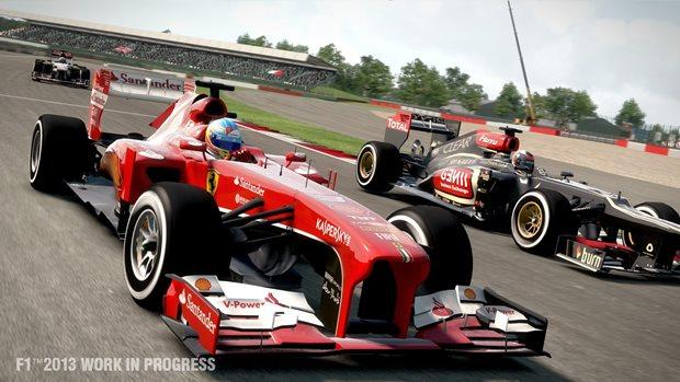 Maior desgaste dos pneus é uma das novidades da simulação em F1 2013 (Foto: Divulgação)