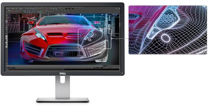 O monitor anunciado possuirá mais 1,07 bilhão de cores. (Foto: Divulgação)