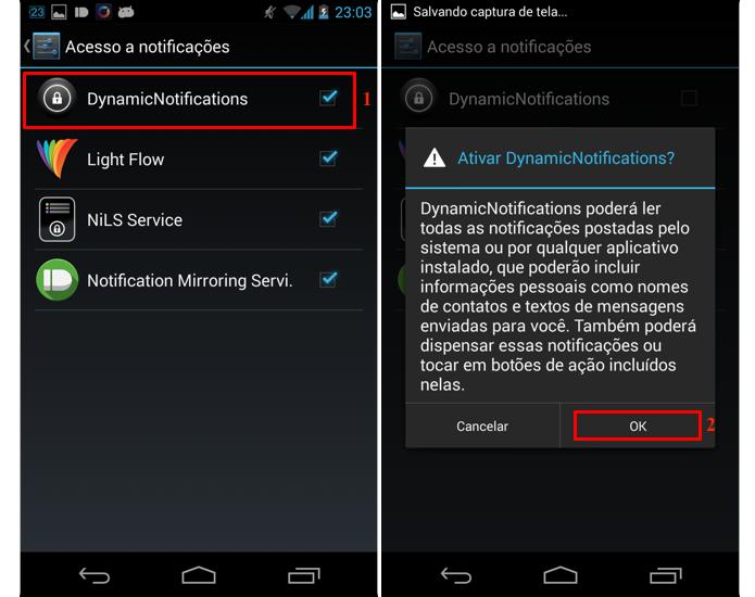Habilite o serviço de notificações (Foto: Reprodução/Thiago Bittencourt)