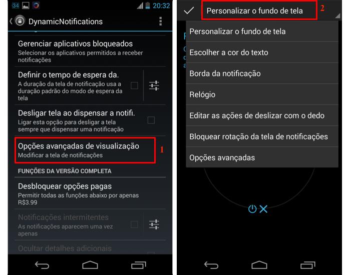 Acesse as configurações avançadas do app (Foto: Reprodução/Thiago Bittencourt)