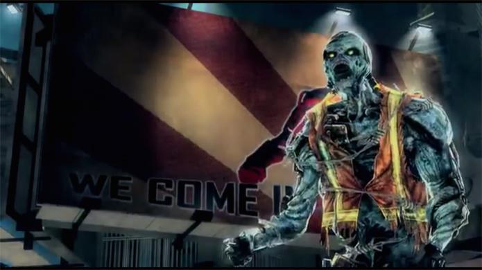 Robôs zumbis desafiam a lógica e levarão muitos tiros em Call of Duty: Online na China (Foto: Reprodução)