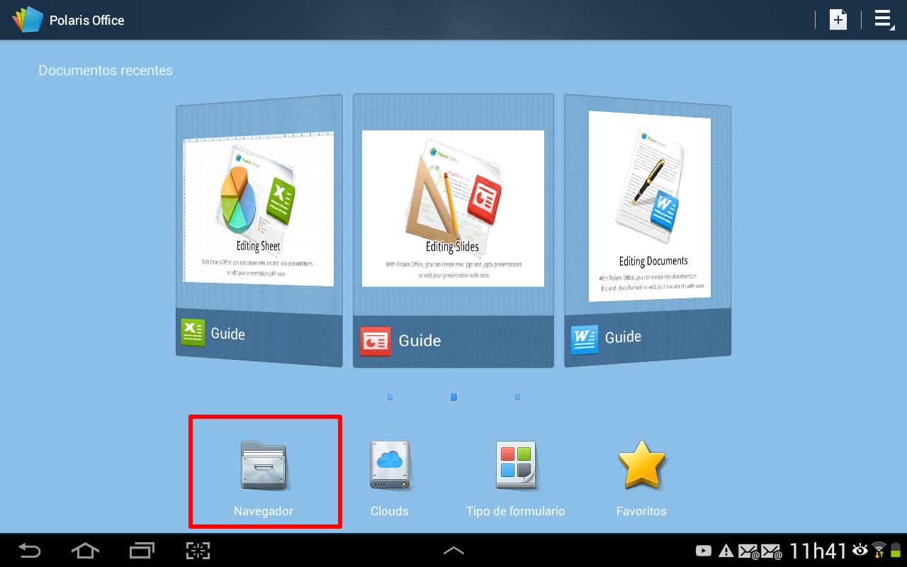 """Clique no ícone com a legenda """"navegador"""" (Foto: Reprodução/Daniel Ribeiro)"""