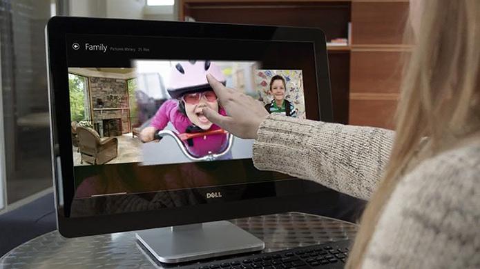 Com foco em entretenimento e na experiência completa do Windows 8, o modelo da Dell possui tela touch de alta definição e placa gráfica de alta performance (Foto:   Reprodução/Dell)
