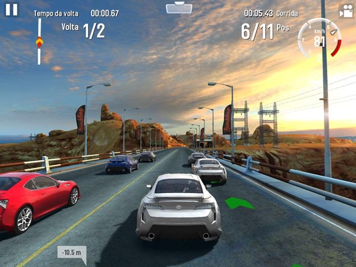 GT Racing 2 permite partidas entre vários jogadores, jogando ao mesmo tempo (Foto: Reprodução / Dario Coutinho)
