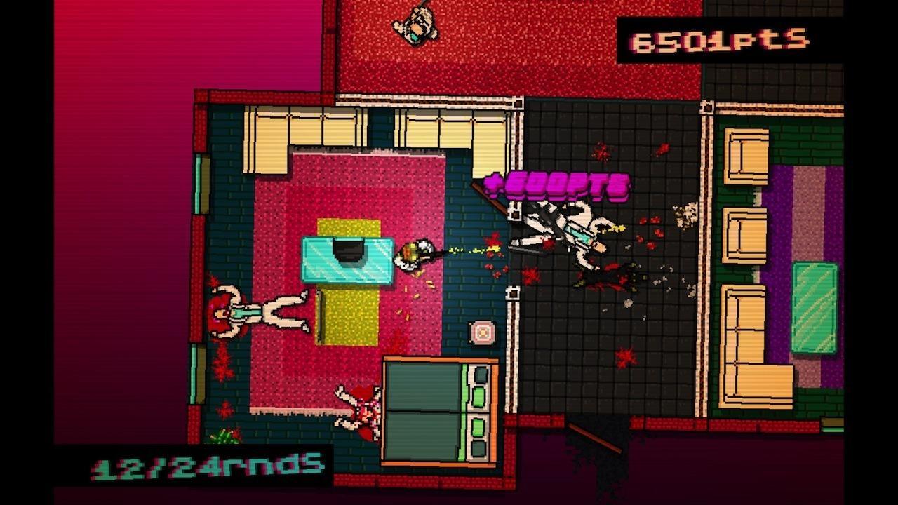 Hotline Miami: jogo ao melhor estilo GTA possui uma das conquistas mais difíceis de desbloquear (Foto: Reprodução/Stfu and Play)