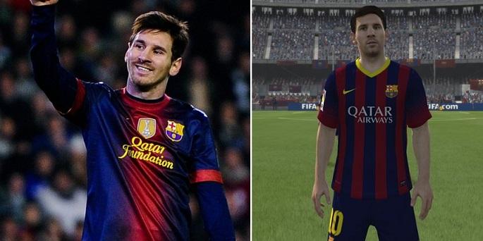 Capa do Fifa, Messi ganhou visual apurado (Foto: Reprodução)