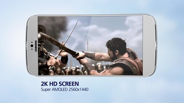 Galaxy S5 pode ganhar display Super Amoled WQHD, de 560 pixels por polegada (Foto:Reprodução/TechBeasts)