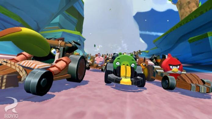 Angry Birds Go leva os personagens de Angry Birds para o mundo da velocidade (Foto: Divulgação)