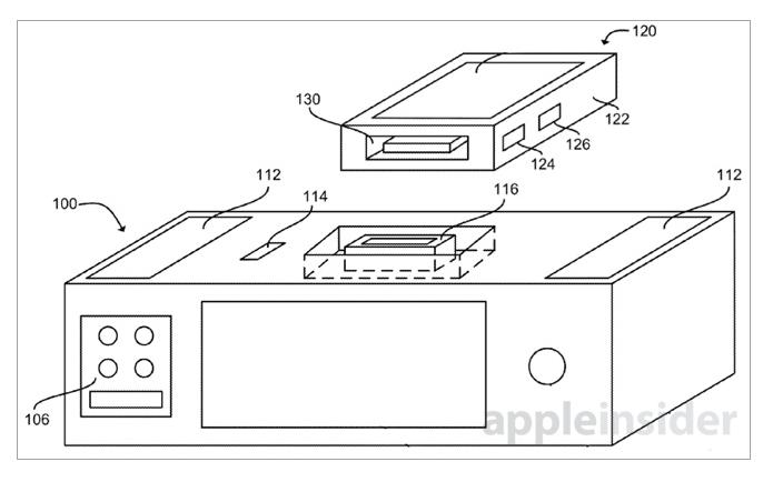 Apple tem projeto de smart dock completo (Foto: Reprodução/Apple Insider)
