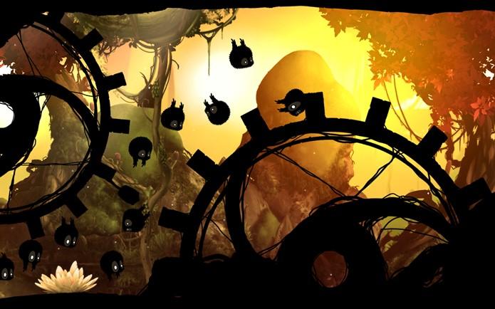 Badland é um jogo muito bonito, até mesmo em um Galaxy Y (Foto: Divulgação)