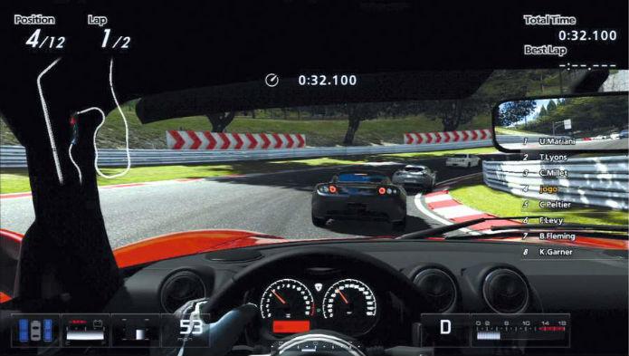Como em Gran Turismo 5, nem todos os carros terão paineis detalhados. É uma briga que vai continuar (Foto: Reprodução)
