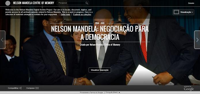 Site conta a história do Madiba (Foto: Reprodução/TechTudo)