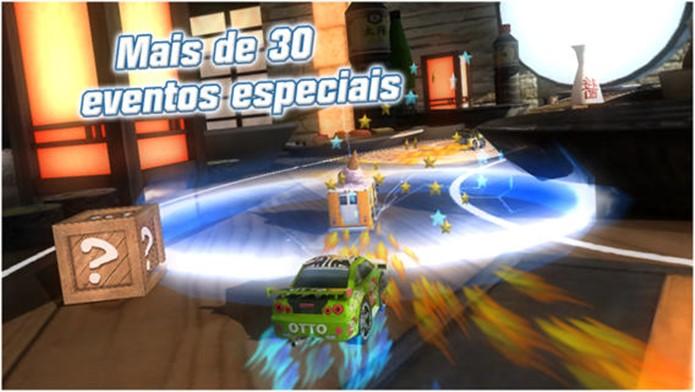Table Top Racing é uma mistura de Mario Kart com Micro Machines (Foto: Divulgação)