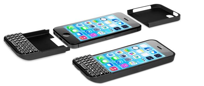 Case Typo adiciona um discreto teclado físico no iPhone (Foto: reprodução/Engadget)