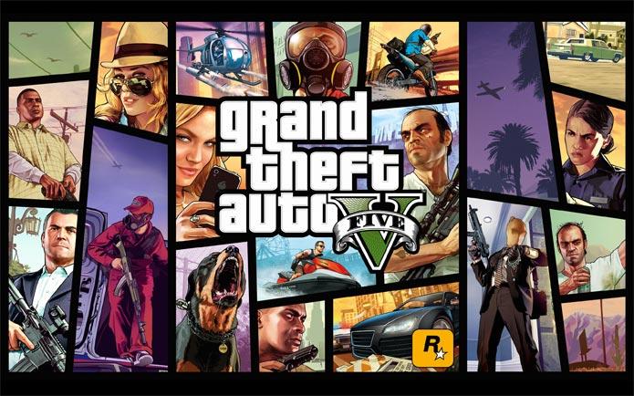 GTA 5 foi eleito o Melhor do Ano no VGX 2013 (Foto: Divulgação)