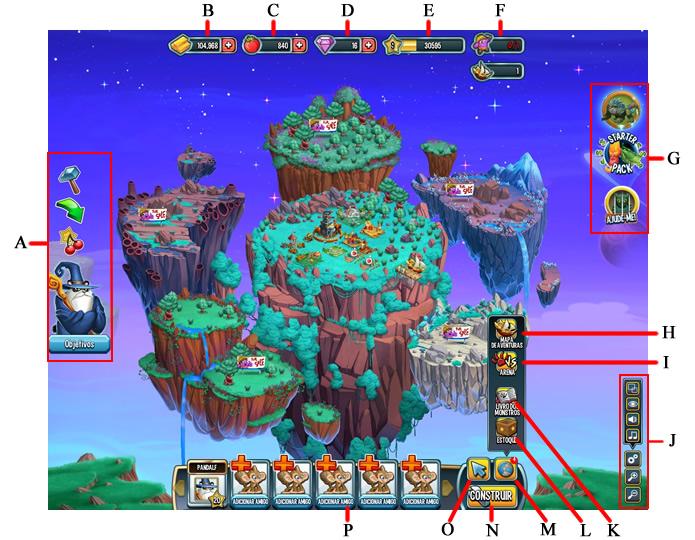 A interface do criadouro (Foto: Reprodução/Daniel Ribeiro)