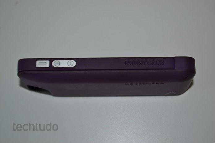 Acessório deixa o iPhone mais parrudo (Foto: Thiago Barros/TechTudo)