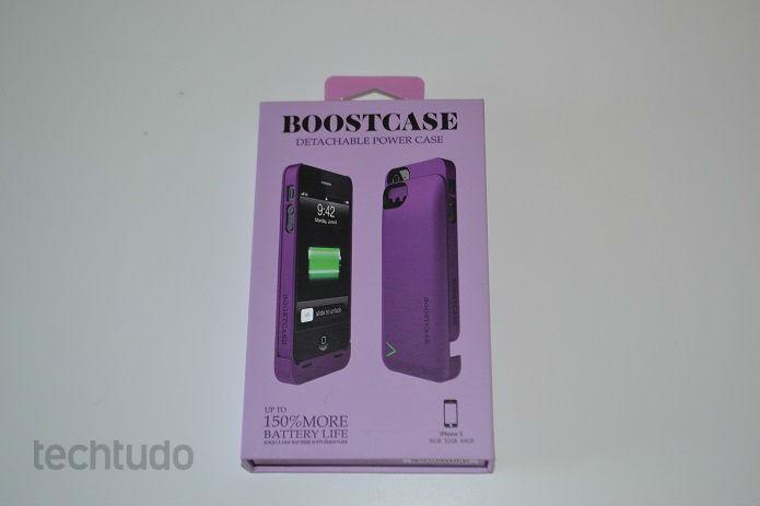 Boostcase promete 150% mais bateria para o iPhone (Foto: Thiago Barros/TechTudo)