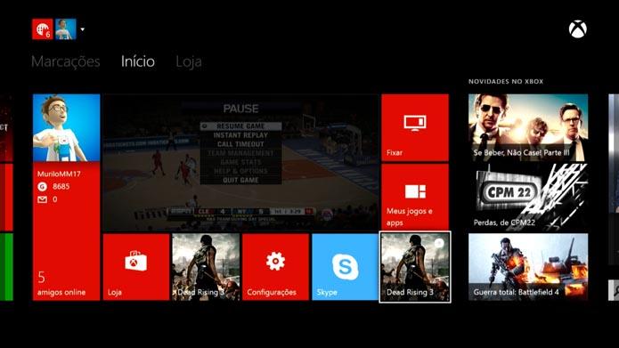 Xbox One: dicas para navegar na nova dashboard (Reprodução/Murilo Molina)